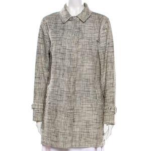 Burberry Plain Light Short Trench Jacket